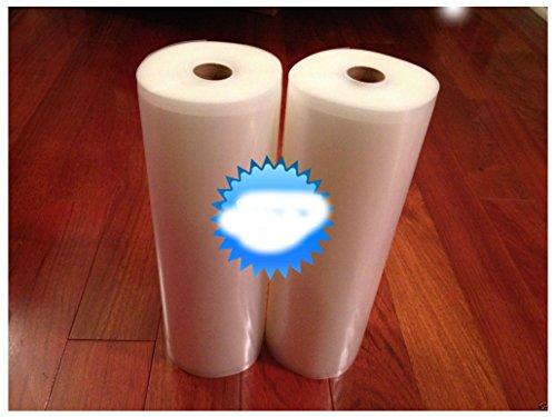 2 ROLLS 11 x 50 4 mil Food Storage Vacuum Sealer Bags