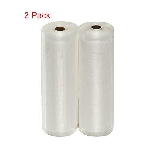 MIMINUO 2 pack 11x197 Vacuum Sealer Bags,20x500cm11x197 High Grade Vacuum Sealer Rolls Food Storage 66 feet in allVacuum Sealer Bag RollsBPA Free FDA Approved for Sous Vide 2