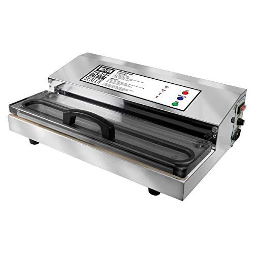 Weston Pro-2300 Commercial Grade Stainless Steel Vacuum Sealer 65-0201 Double Piston Pump