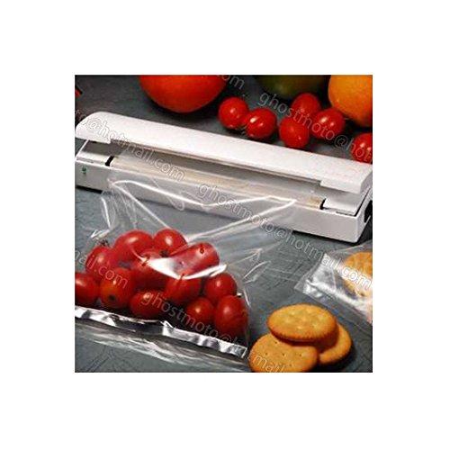 Portable Food Saver Storage Bag Sealer Resealer Vacuum Packer