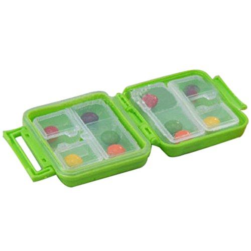 BleuMoo Weekly Medicine Drug Pill Box Storage Case Portable Container Organizer travel