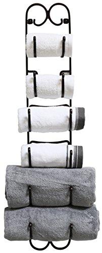 DecoBros Wall Mount Multi-Purpose TowelWineHat Rack Bronze