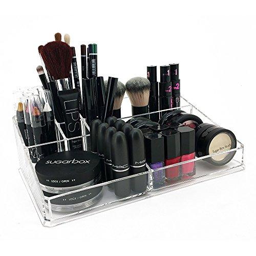OnDisplay Deluxe Acrylic CosmeticJewelry Organization Tray