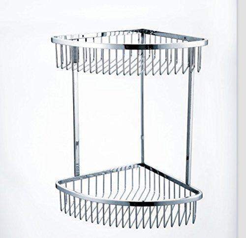 Kaiping bathroom double bathroom Shelf corner rack hanging basket stainless steel bathroom hanging basket 230  drawing section-YU&XIN
