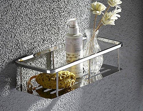 OLQMY-Stainless Steel 304 Bathroom Thickening Bathroom Rack Bathroom Toilet Hanging Basket