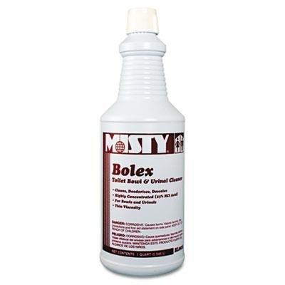 Bolex Toilet Bowl Urinal Cleaner Quart Bottle 12 BottlesCase