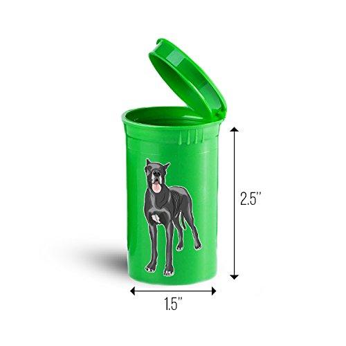 Great Dane Dog Storage Organizer Bin for Vitamins Supplements Health Supplies ID 1689G