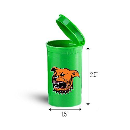 Pit Bull Dog Storage Organizer Bin for Vitamins Supplements Health Supplies ID 1632G