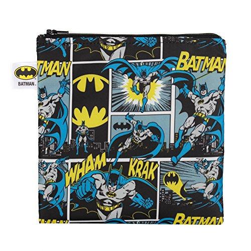 Bumkins DC Comics Reusable Snack Bag Large Batman