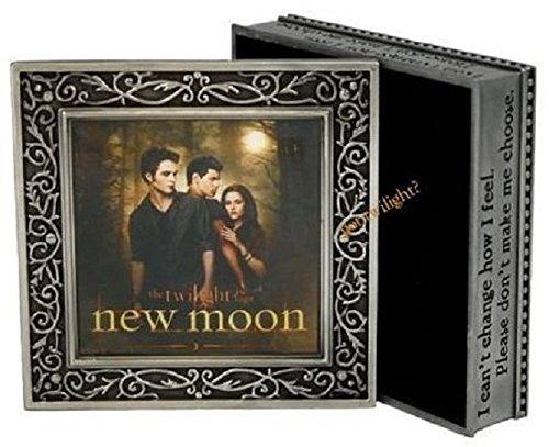 New Moon Metal Jewelry Box