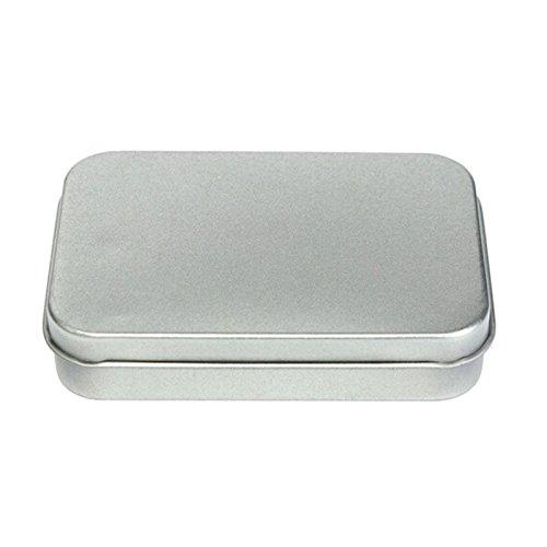 Shopline Metal Jewelry Box Small Iron Box Earring Ring Organizer Storage Box