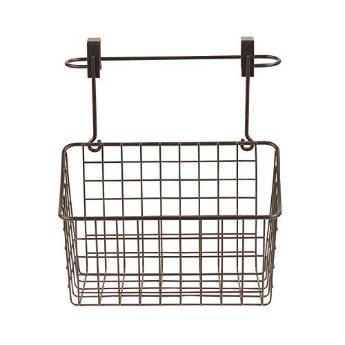 Spectrum Diversified Grid Towel Bar Medium Basket Under Sink Kitchen Cabinet Organizer Tray Bronze