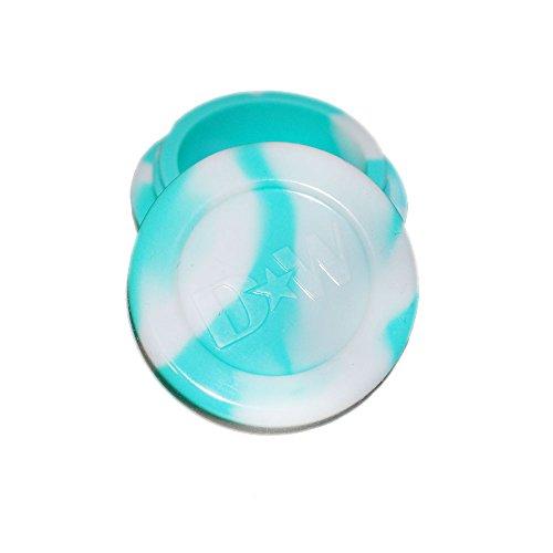Aqua  White Non Stick Silicone Oil Kitchen Container Jars  Bonus Enamel Pin Wholesale Pricing Available 5