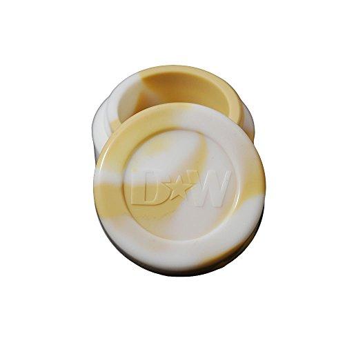 Beige  White Non Stick Silicone Oil Kitchen Container Jars  Bonus Enamel Pin Wholesale Pricing Available 1