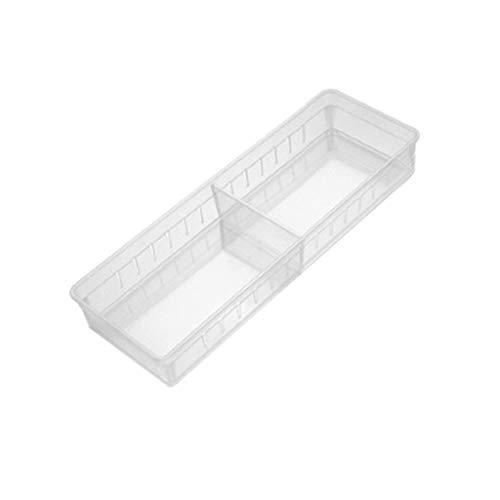 Toberry tableware Kitchen Drawer Storage Box Home Kitchen Board Divider Adjustable Storage Box Drawer Organizer Box