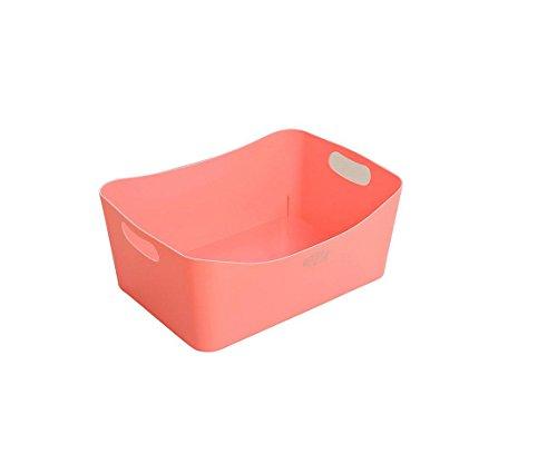 Generic 1Pcs Storage Box Refrigerator Shelf Storage Rack Food Container Kitchen Tools Pink
