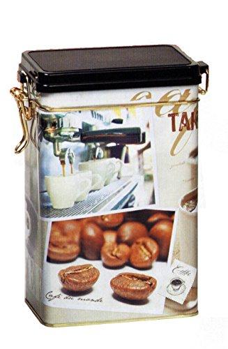TAKE A BREAK  COFFEE TIME Coffee Tin Tea Caddy  Kitchen Storage Tin