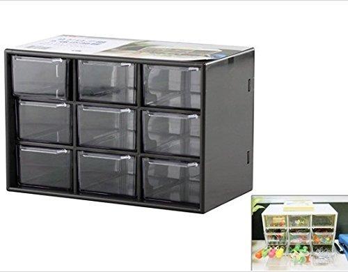 Home Storage Box with 9 Sub-drawers