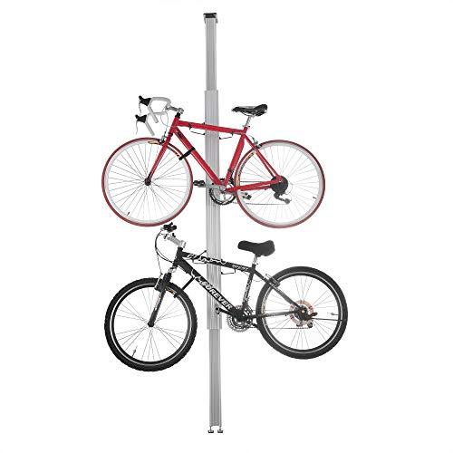 2024 RAD Cycle Aluminum Bike Stand Bicycle Rack Storage or Display Holds Two Bicycles Renewed