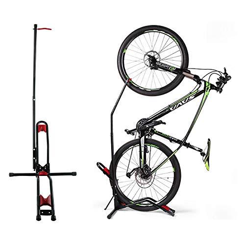 Yaegoo Vertical Bike Rack Floor Stand Indoor Bicycle Storage Mount Bike Floor Stand - Fits Nearly All Bikes Frees 4 Feet of Floor Space FIT 20-29 Inch Bikes