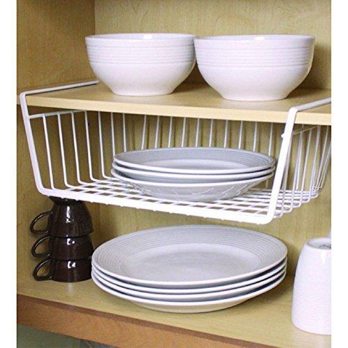 Home Basics Under The Shelf Storage Basket