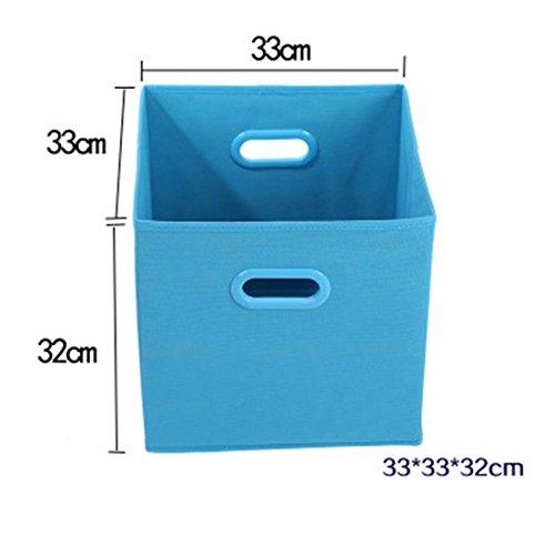 Canvos Cube Foldable Baby Toys Storage Baskets Box Nursery Bin Clothes Closet Organizer