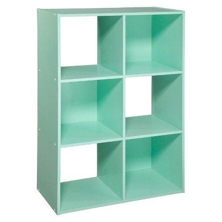 6-Cube Organizer Shelf 11 Mint Color