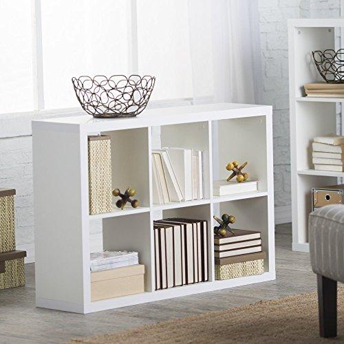 Finley Home Hudson 6 Cube Bookcase -