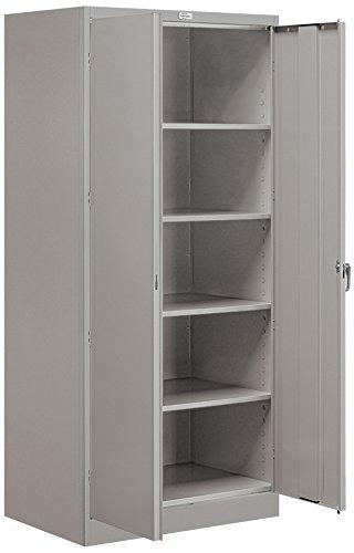 Salsbury Industries Standard Storage Cabinet 78-Inch by 24-Inch Gray
