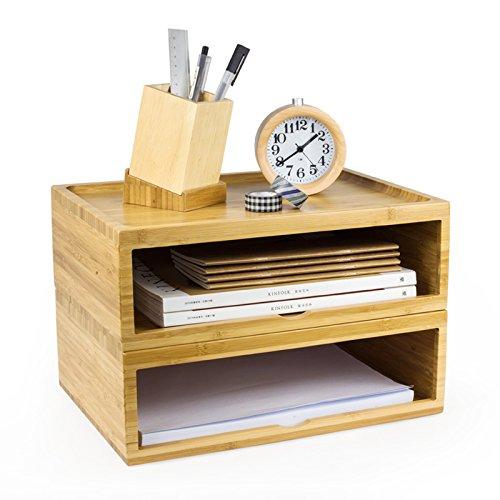 Simple Life Storage Chest Box Household Essentials Drawer Wooden Storage Chest Box Office Desktop Organizer
