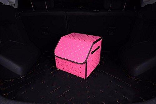 Car Storage box trunk folding box Storage boxPink353230cm