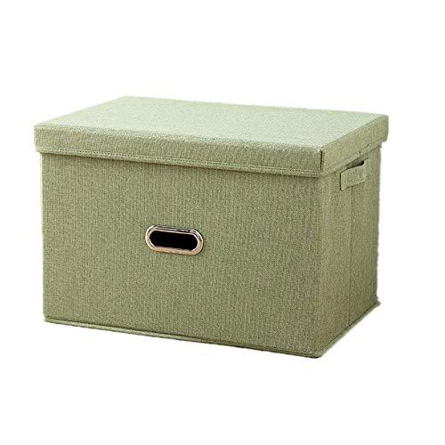Actume Drawer Storage Organiser Foldable Storage Boxes Wardrobe Storage Organiser with Handles for Bra Underwear Socks Green