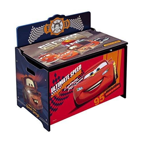 Delta Children Cars Deluxe Toy Box Toy Storage Chest