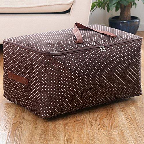 Oxford cloth clothes quilt bag storage box blanket storage bagMedium 50L