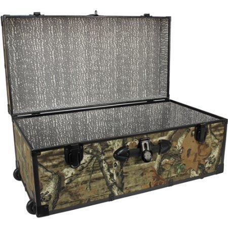 Wheeled Storage Footlocker Mercury Luggage Seward 30 by Mossy Oak
