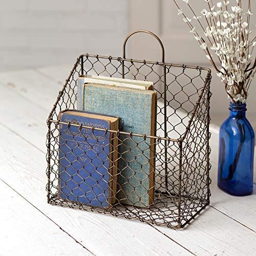 CTW Home Collection Chicken Wire Magazine Basket