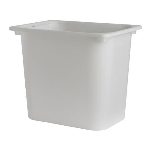 IKEA - TROFAST Children Storage box with lid white Large X2