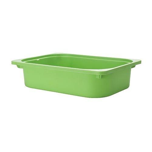 Ikea Trofast Toy Storage Box Green Medium