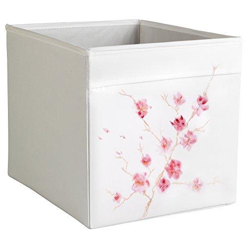 MintShake Ikea Drona Box - ExpeditKallax Insert - Customized - Aquarelle Pastel Flowers Sakura