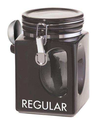 Oggi EZ Grip Regular Coffee Canister Black