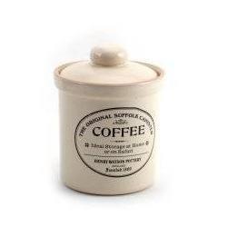 Charlotte Watson Medium Teracotta Coffee Jar in Buttermilk BM126