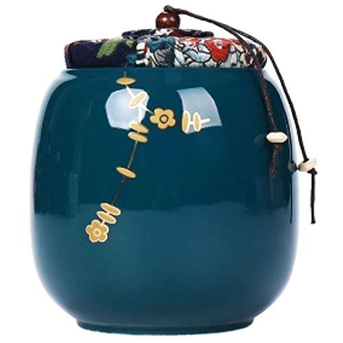LUNA VOW Japanese Ceramics Tea Canister Traditional Tea Caddy A27