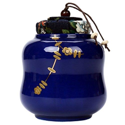 LUNA VOW Japanese Ceramics Tea Canister Traditional Tea Caddy A28