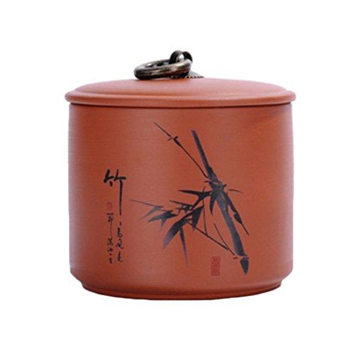 LUNA VOW Japanese Ceramics Tea Canister Traditional Tea Caddy A59
