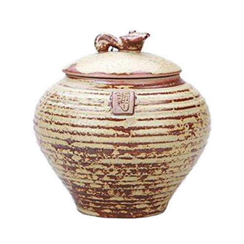 Ceramic Tea Coffee Container Stylish Tea-leaf Candy Storage Pot Tea Caddy 26