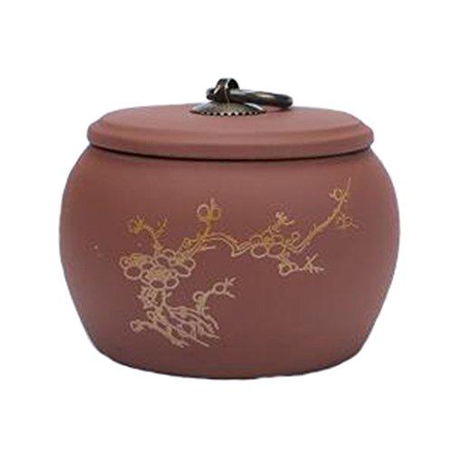 Retro Ceramic TeaCoffee Container Stylish Snack Jars Candy Storage Pot E