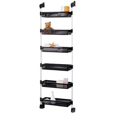 Overdoor 6 Shelf Cabinet Storage Bin Unit