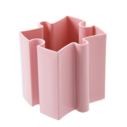 Makeup Storage Boxes Inkach Desktop Offices Storage Box Cosmetic Organizer Holder Pen Holder Case Pink
