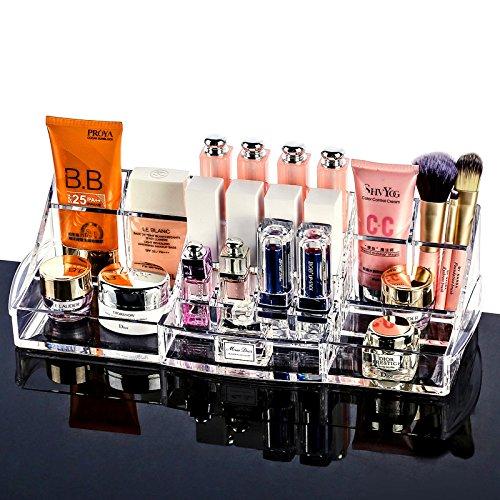 AP Shop New Arrival Europe Style L Size Acrylic Cosmetic Organizer Jewelry Lipstick Storage Box Makeup Organizer