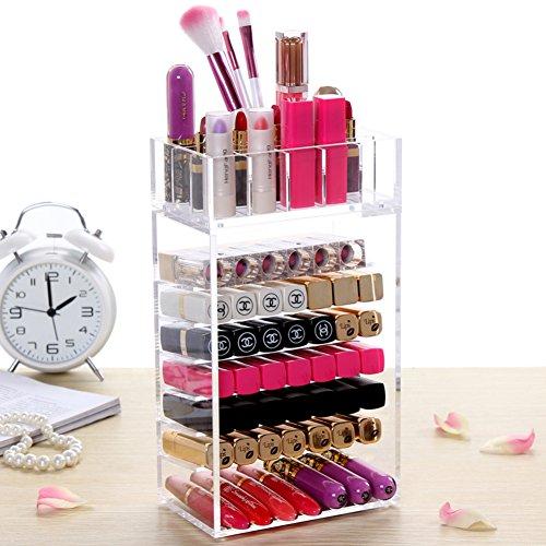 transparent lipstick storage boxLipstick storage boxDesktop storage box-B